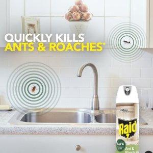 7.4折起 杀虫剂低至€2Raid雷达 最受信赖的防虫品牌 多管齐下帮你解除害虫危机