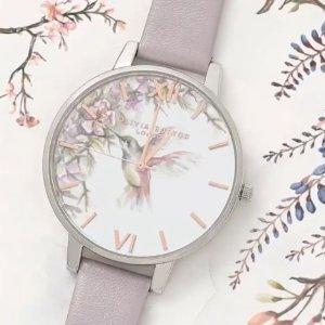闪现78折 128胖收小蜜蜂套装Olivia Burton 英伦精致复古手表热卖