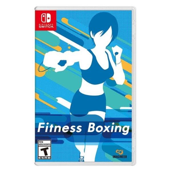 《健身拳击》 Switch 实体版 健身娱乐一手抓 支持中文