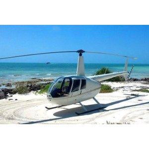 西礁岛 直升机观光游