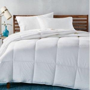 低至4折+额外7.5折最后一天:Hotel Collection 羽绒被、枕头折上折热卖 $45收枕头