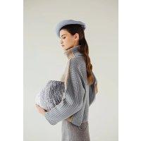 Petite Studio Averie Cashmere Blend Sweater - Sky