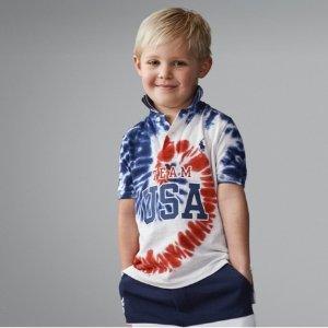$29.5起Ralph Lauren 奥运美国队系列儿童服饰开卖 为奥运助威