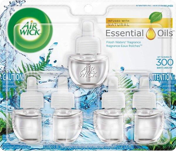 空气香氛替换精油 5瓶装