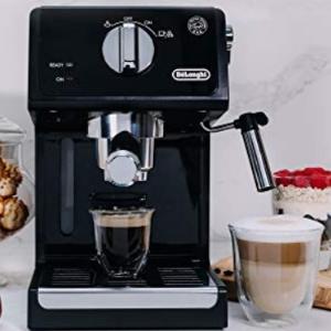 $79.99史低价:De'Longhi ECP3120 意式泵压式半自动咖啡机 打泡机