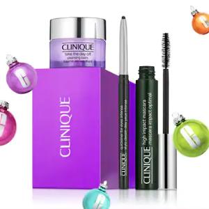 满额$45送紫胖子卸妆&眼妆套盒圣诞月活动:Clinique倩碧 护肤、美妆产品热卖