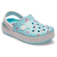Crocs 儿童 Crocband™ 图案洞洞鞋,3色选