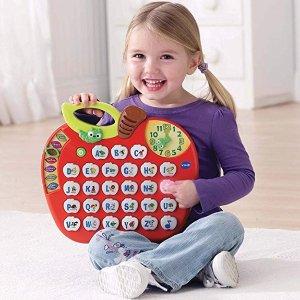 $16.96(原价$21.99)+包邮史低价:VTech 字母苹果儿童早教玩具