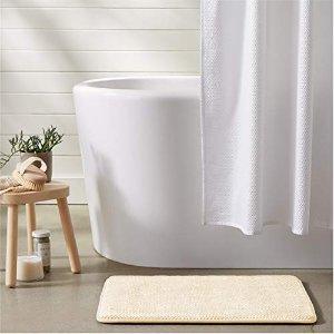 $7.61AmazonBasics 记忆海绵吸水浴室防滑垫 小号 2块
