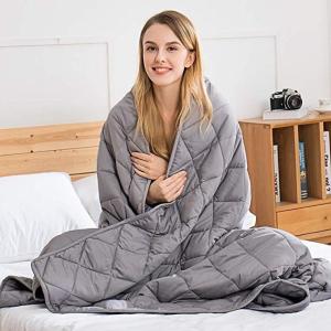 三款尺寸可选 £48.99起闪购:Jaymag 重力毯限时闪促 抵抗焦虑 睡眠镇静神器