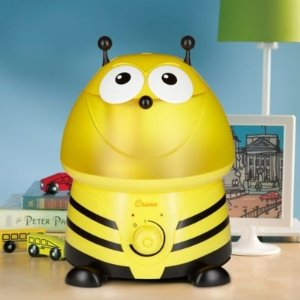 CraneUltrasonic Cool Mist Adorable Bumblebee Humidifier with Bonus Filter