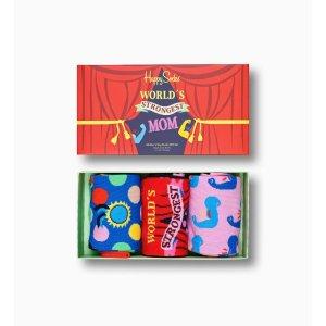 Happy SocksMother´s Day Socks Gift Box 3-Pack