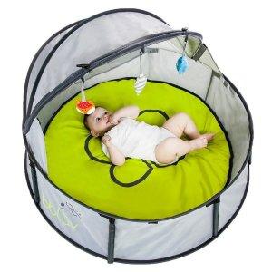 $59.97 (原价$92)史低价:bblüv Nido 二合一 便携式 室内/户外 婴儿旅行床+游戏围栏