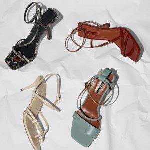 8折+学生折扣9折+免邮即将截止:TOPSHOP 精选新款鞋履美靴特卖