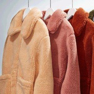 As low as $24.97Nordstrom Rack Teddy Coats Sale