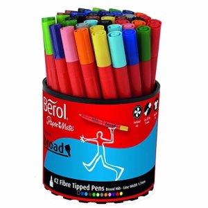 £10.66Berol 42支装彩色笔限时折扣