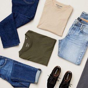 低至3折  €19收格纹衬衫Jack & Jones 新年大促 经典都市休闲、时尚男装这里收