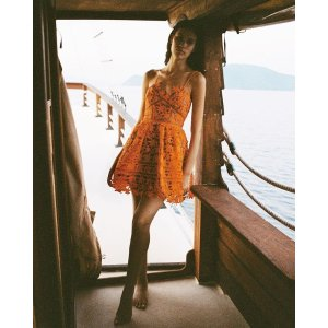 Self PortraitAzalea lace mini dress