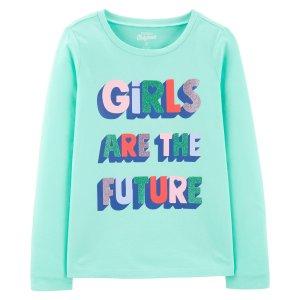 OshkoshDoorbuster女童、大童T恤