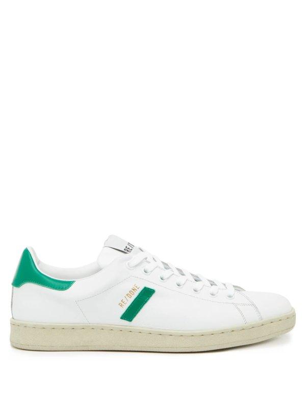绿尾小白鞋