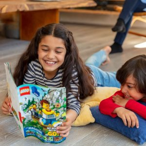 免费订阅+免费邮寄LEGO官网 乐高 LIFE 儿童杂志,含搭建方法及小游戏