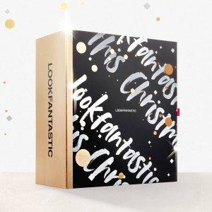 变相1.6折 仅€80收(价值超€500)开箱:Lookfantastic 2020圣诞日历礼盒重磅来袭 预售已开启