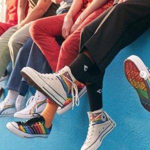 7.5折 经典黑色帆布鞋£20起折扣升级:Converse 返校季惊喜折扣上线 收经典款纯白、纯黑、格纹等爆款