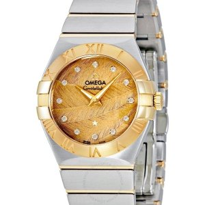 Extra $50 OffDealmoon Exclusive: OMEGA Constellation Champagne Dial Ladies Watch