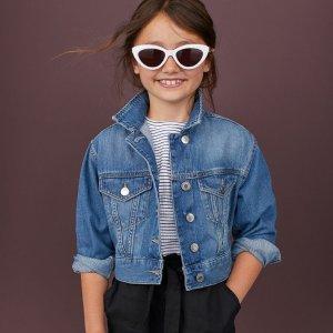 满$60享8折+包邮H&M 儿童牛仔服饰特卖 质优价廉好选择