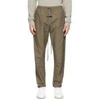灰褐色运动休闲裤