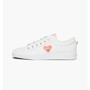 adidas Originals女士爱心 Trefoil 小白鞋
