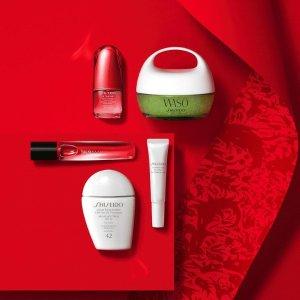 低至5.2折+额外6.2折起Shiseido 全线热卖 好价收红腰子精华、红色蜜露