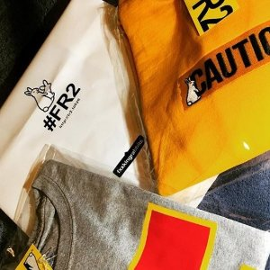 新品$84起 两只污兔子#FR2 卫衣、T恤上新 陈冠希超爱的品牌