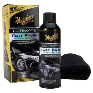 "$8.63Meguiar's Ultimate Fast Finish – The Easiest Way to ""Wax"" – G18309, 8.5 oz"