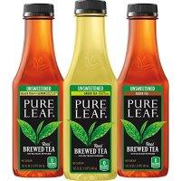 Pure Leaf 原叶鲜泡茶饮 无糖 三种口味 547ml 12瓶