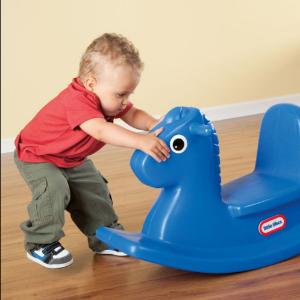 $39.97(原价$55.97)Little Tikes 小泰克摇摇马 环保塑材、一体成型更安全
