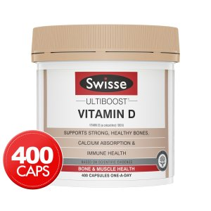 Swisse维生素D 400 Caps