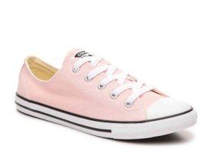 $49.95包邮!CONVERSE 女款粉色帆布鞋
