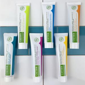 售价€7.9 减少牙齿出血和敏感Cattier 法国蜂胶牙膏 无薄荷不起泡 基础清洁无负担、不反胃