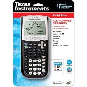 史低价:Texas Instruments 德州仪器 TI-84 Plus 图形计算器