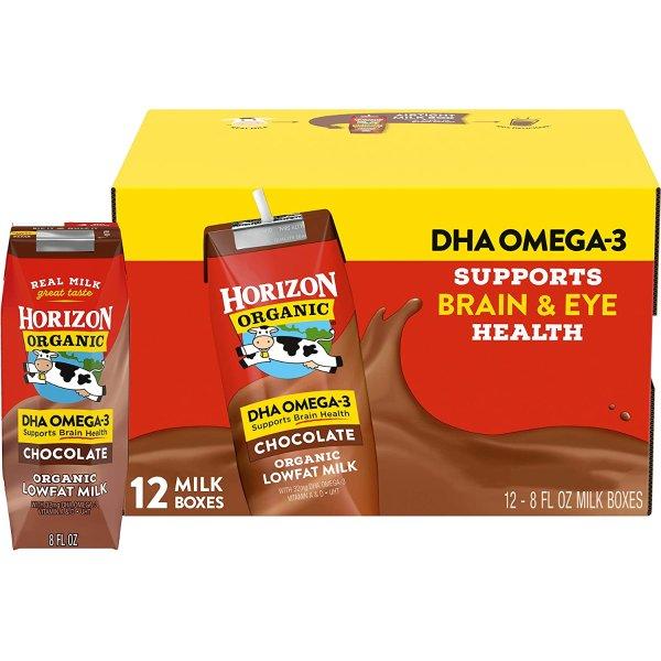 巧克力DHA有机奶 8oz 12盒