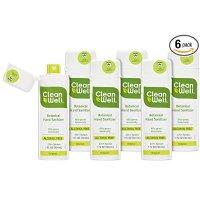 CleanWell 杀菌消毒免洗洗手喷雾 大人儿童都可用 6个