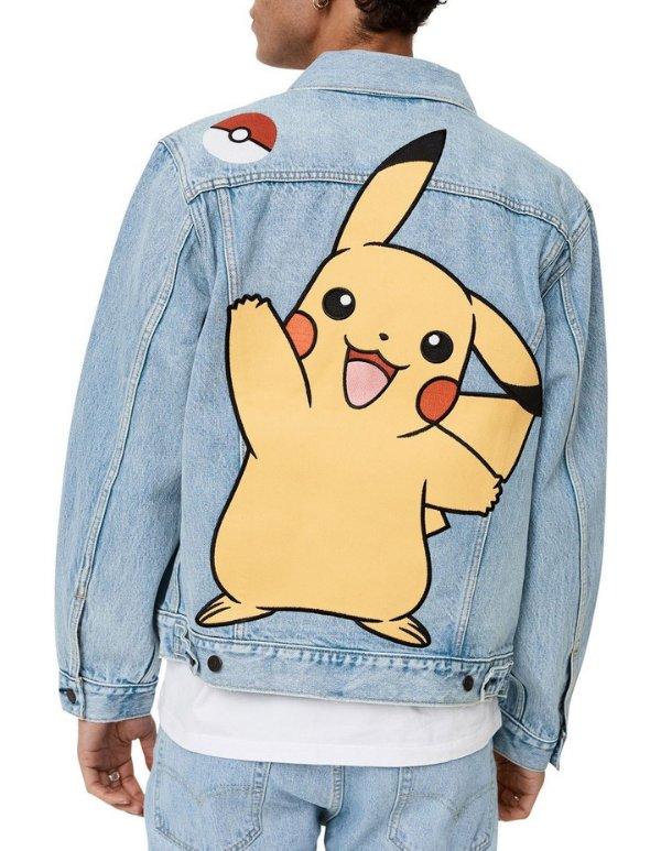 ® x Pokemon牛仔外套