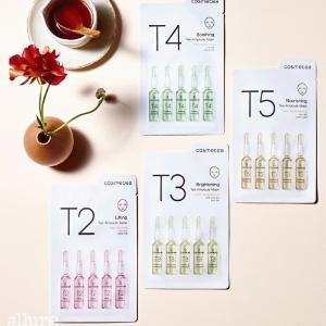 $20.99(原价$27.99) 莫文蔚同款黑五价:COSMETEA 纯植物茶安瓶精华面膜7.5折热卖 Amazon官方店