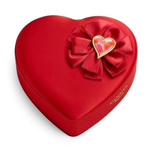 情人节心形巧克力礼盒
