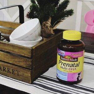 $7.67Nature Made Prenatal + DHA 200 mg Softgels Value Size 90 Ct @ Amazon