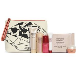 Free 7-pc GiftGift with Any $75 Shiseido Purchase @ Lord & Taylor