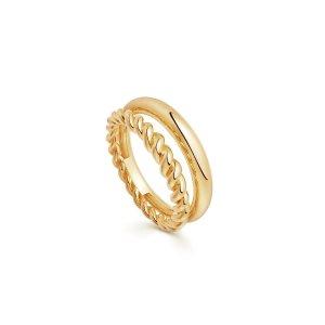 Missoma双圈戒指
