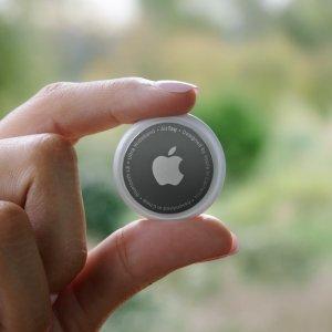 单件$45,4件套装$149新品上市:Apple AirTag 发布, 随时随地精确查找, 续航超1年