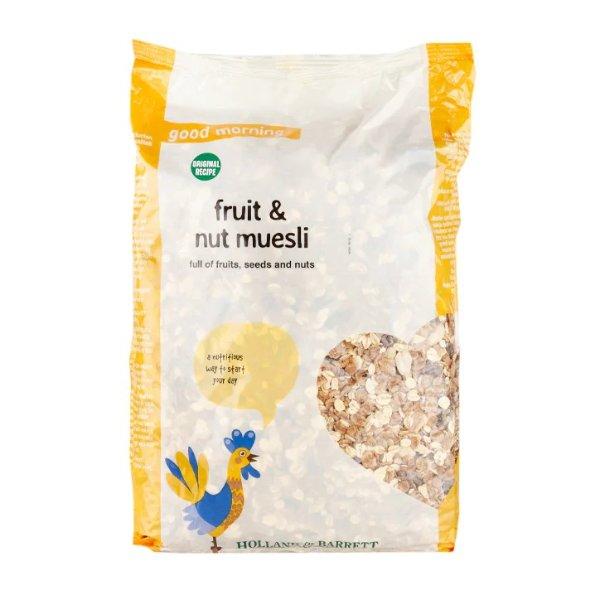 原味什锦麦片水果和坚果原味2公斤
